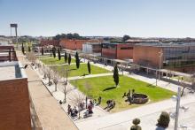 Alameda Central da Universidade de Aveiro
